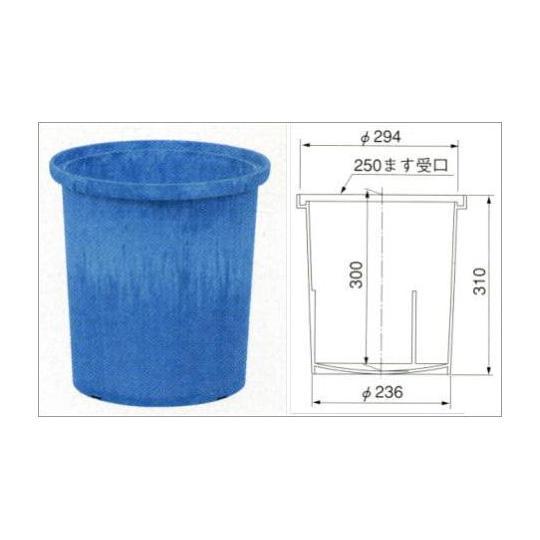 商品名 : 溜桝250型 φ250*300H 販売価格 :  溜桝250型 φ250*300H